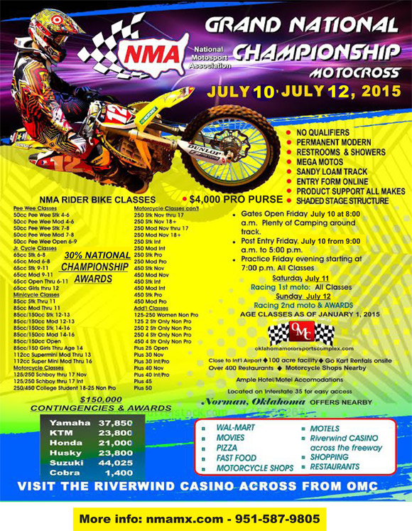 NMA Grand Nationals Flyer